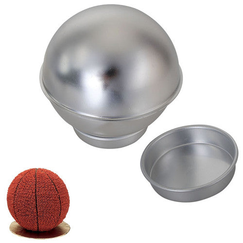 Creative 3D Sports Ball Shaped Cake Pan Baking Mold Set
