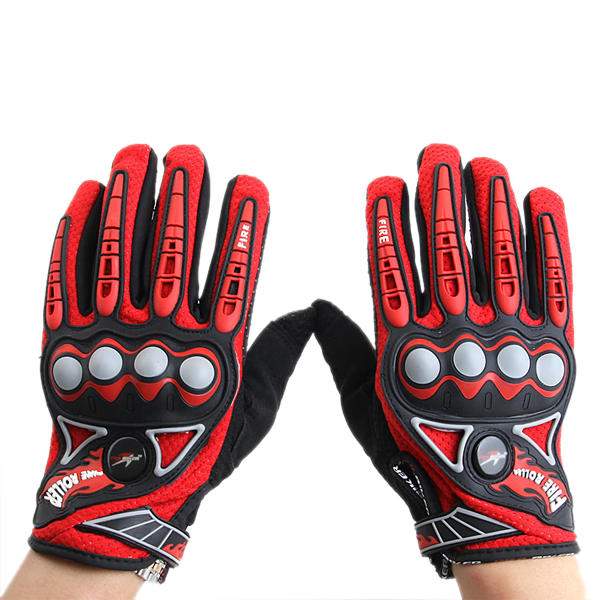 Full Finger Safety Bike Motorcycle Racing Gloves for Pro-biker MCS23 - Slabiti