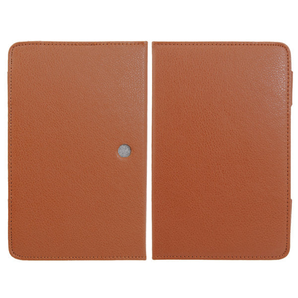 Folio Leather Case With Stand For Ampe A78 Sanei N79 Tablet - Slabiti