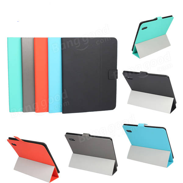 Tri-fold Ultra Thin Folio PU Leather Stand Case For PIPO M6 M6Pro - Slabiti