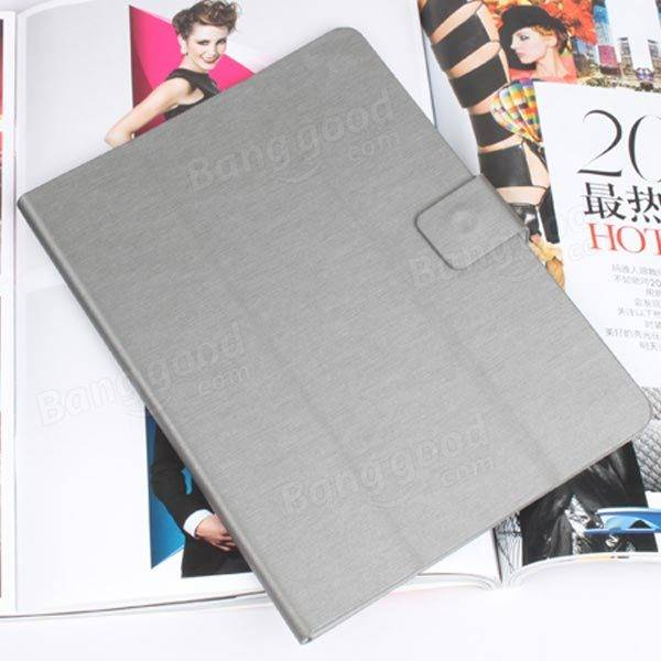 Tri-fold Ultra Thin Folio PU Leather Folding Stand Case For PIPO M9 - Slabiti