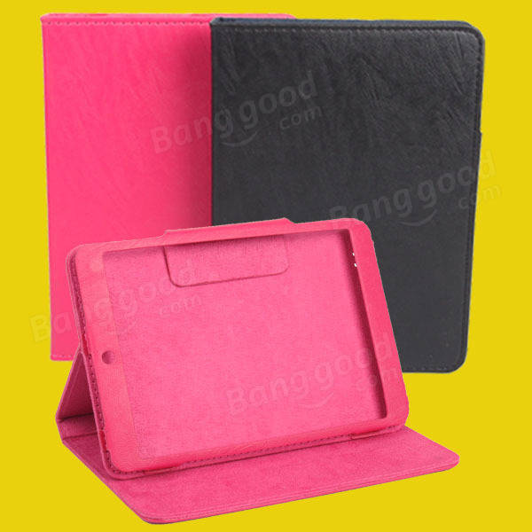 Simple Folding Stand Case Cover For AMPE A88 SANEI N82 Tablet - Slabiti