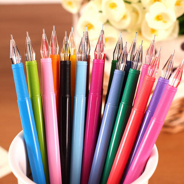 Candy Color Water Color Pen Diamond Head 0.5mm Multicolor Gel Pen - Slabiti