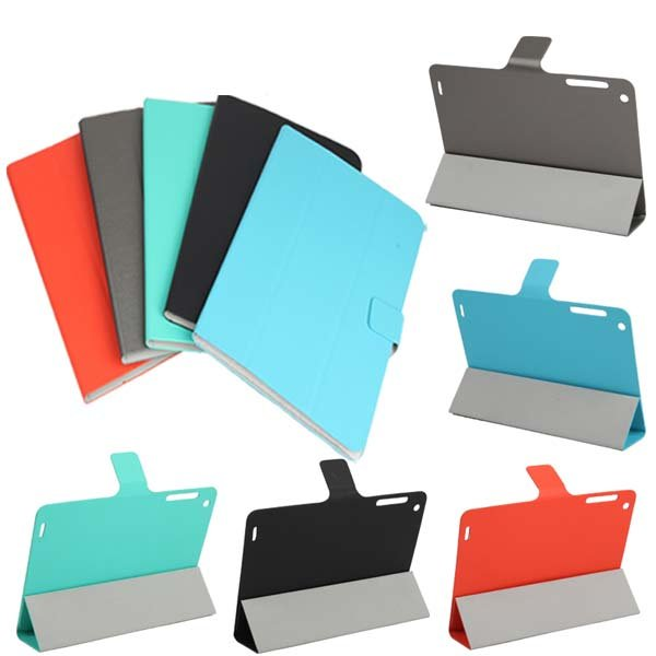 Tri-fold Ultra Thin Folio PU Leather Case For Chuwi V88 V88S - Slabiti