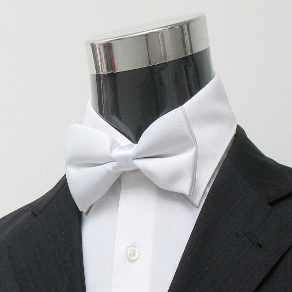 Mens Polyester Solid Color Choir Uniform Bowtie - Slabiti