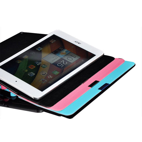 Ultra Thin Tri-fold PU Leather Case Cover For Acer A1-830 Tablet - Slabiti