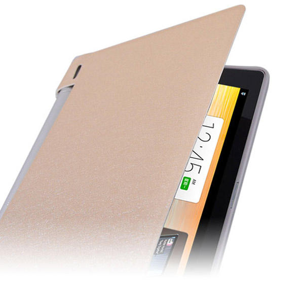 Folding Stand PU Leather Case Cover For Lenovo B6000 Tablet - Slabiti
