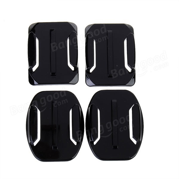 Flat Mounts+Curved Mounts with Adhesive Pads for SJ4000 Gopro - Slabiti