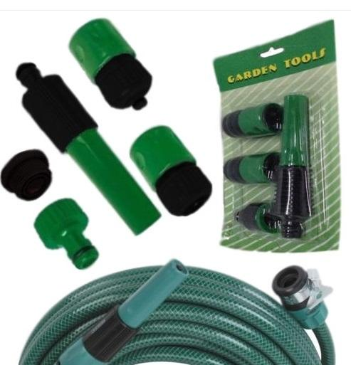 Garden Water Hose Pipe Tap Nozzle Connector Adapter Fitting - Slabiti