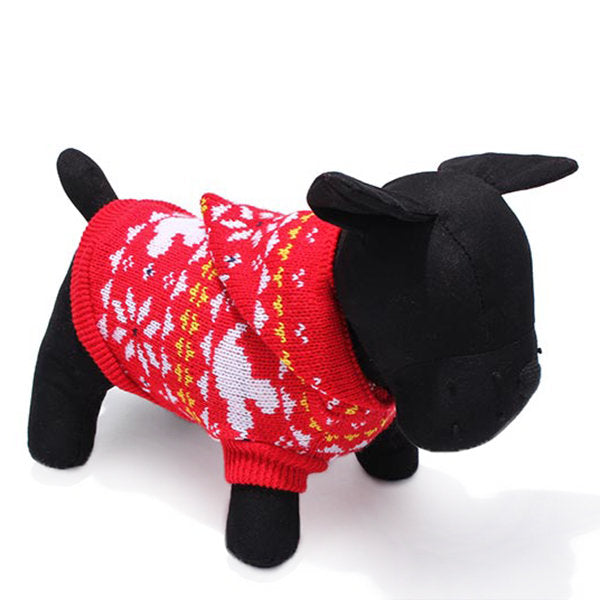 Pet Dog Knitted Breathable Warm Sweater Outwear Winter - Slabiti