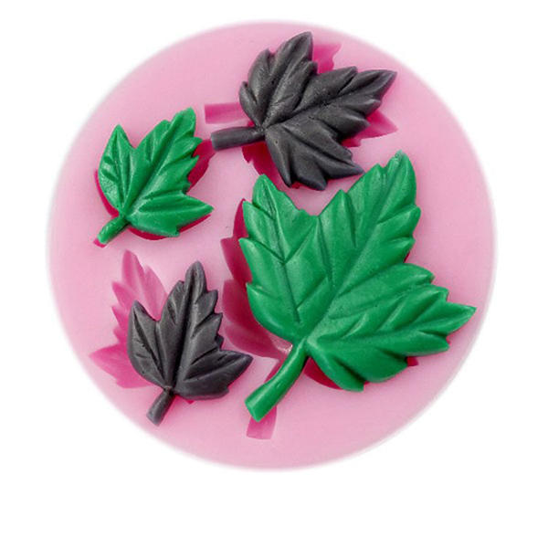 Mapple Leaf Silicone Fondant Mold Sugarcraft Cake Decorating Mould - Slabiti