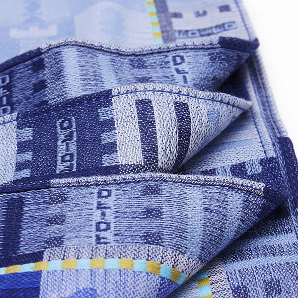 Jacquard Weave Cotton Square Men Handkerchief Pocket Hanky Wedding Party - Slabiti