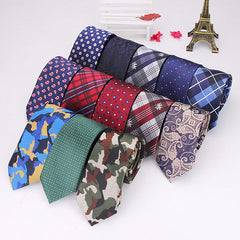 2015 Men Tie Vintage British Style Polyester Silk Businessman Accessories - Slabiti