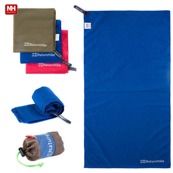 NatureHike Quick Drying Microfiber Towel Outdooors Travel Antibacterial Sport Towel - Slabiti