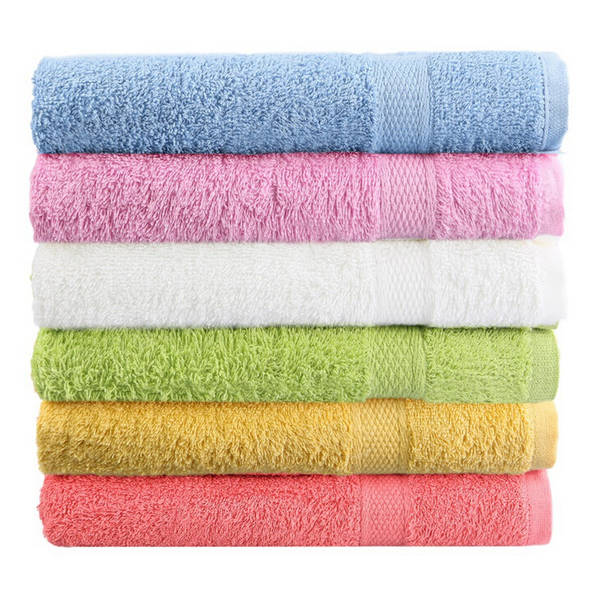 80x50cm Soft Cotton Bath Beach Towel Super Absorbent Loose Terry Face Towel - Slabiti