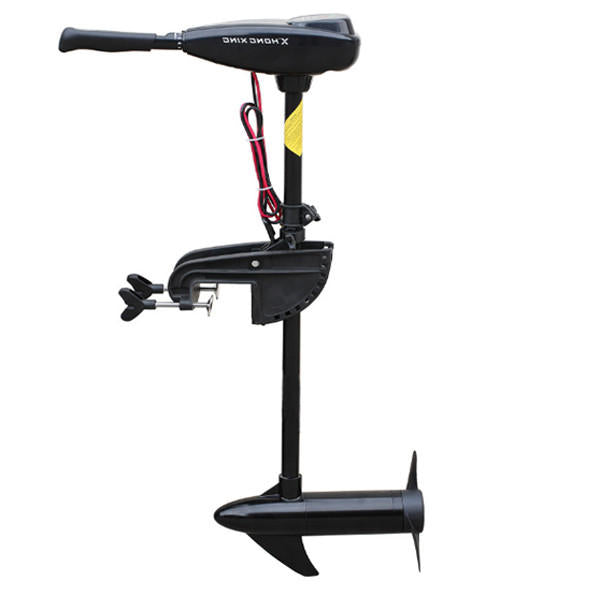 Electric Trolling Motor Marine Propulsion 60lb Power Boat Machine Outboard Propeller - Slabiti