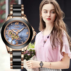 SUNKTA New Women Luxury Brand Watch Simple Quartz Lady Waterproof Wristwatch Female Fashion Casual Watches Clock reloj mujer - Slabiti