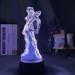 Saint Seiya Knights of The Zodiac Led Night Light for Kids Bedroom Decoration Usb Battery Powered Nightlight Table Lamp Anime - Slabiti