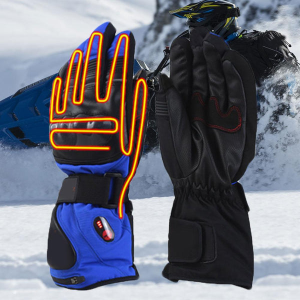 Screen Touch Motorcycle gloves Electric Heating Winter Luva Motoqueiro Guantes Luvas de motos Cycling Motocross gloves Gants - Slabiti
