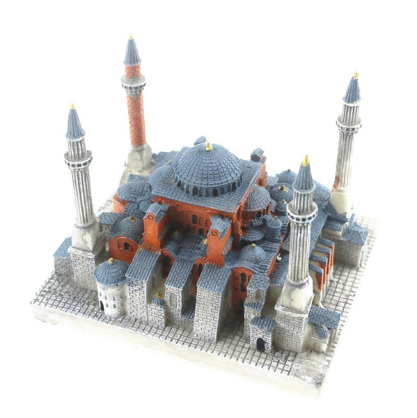 Sophia Cathedral, Istanbul, T Creative Resin Crafts World Famous Landmark Model Tourism Souvenir Gifts Collection - Slabiti