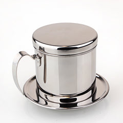 Stainless Steel Coffee Drip Filter Pot For Vietnam Coffee Maker Manual Mocha Maker Dripper Teapot Stovetop Coffee Pots Portable - Slabiti
