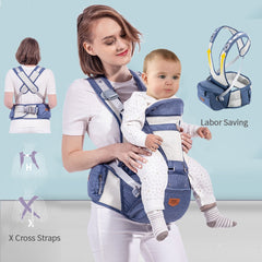 Sunveno Breathable Baby Carrier Ergoryukzak Front Facing Baby Carrier Comfortable Sling for Newborns - Slabiti