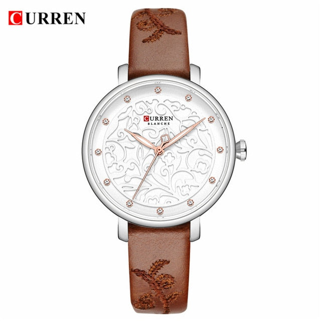 Top Brand CURREN Watches Women Classy Dress Gold Wristwatch with Stainless Steel Female Clock 2019 Fashion Luxury Ladies Watch - Slabiti