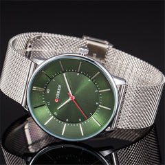 Top Brand Luxury CURREN 2018 New Fashion Casual Simple Business Watches Classic Dial Ultra-thin Quartz Wristwatches Clock Reloj - Slabiti