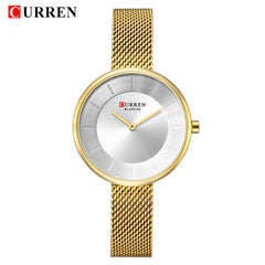 Top Brand Luxury CURREN New Fashion&Casual Simple Business Watches Classic Dial Ultra-thin Quartz Wristwatches Clock 9030 - Slabiti