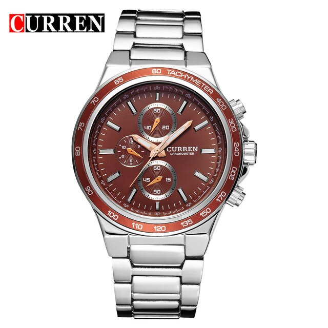Top Brand Luxury Male Clock CURREN Fashion Casual Sports Men Watches  Analog Military Quartz Wristwatch relogio masculino - Slabiti