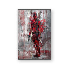 Wall Art Poster Print Canvas Painting Wall Pictures For Home Decor Marvel Avenger Movie Superhero Deadpool Iron Spider Man Loki - Slabiti