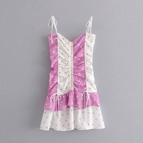 Women Sexy Party Mini Dress Club Party Dress Sexy Dress Club Mini Women Club Dress Bodycon White Purple A6048 - Slabiti