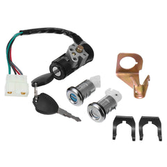 Ignition Switch Key Set 5 Wires For 150cc Roketa Jonway Moped Scooter Gy6 50cc - Slabiti