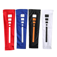 1Piece Men Outdoor Sports Breathable Quick-drying Long Cuffs Riding Basketball Sunblock Arm Sleeve - Slabiti