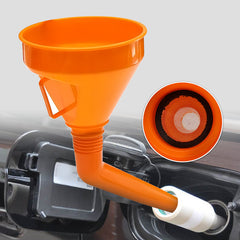 Motorcycle Car Flexible Funnel 2 in1 Can Spout For Oil Water Car Fuel Petrol Kit - Slabiti