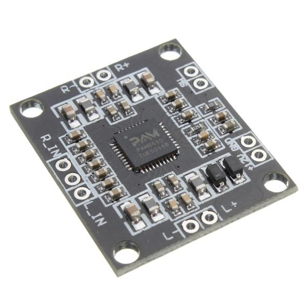 10pcs PAM8610 Digital Amplifier Board 2x15W Dual Channel Stereo Class D - Slabiti