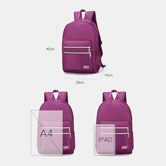 Fashion Light Weight Large Capacity Backpack For Women - Slabiti