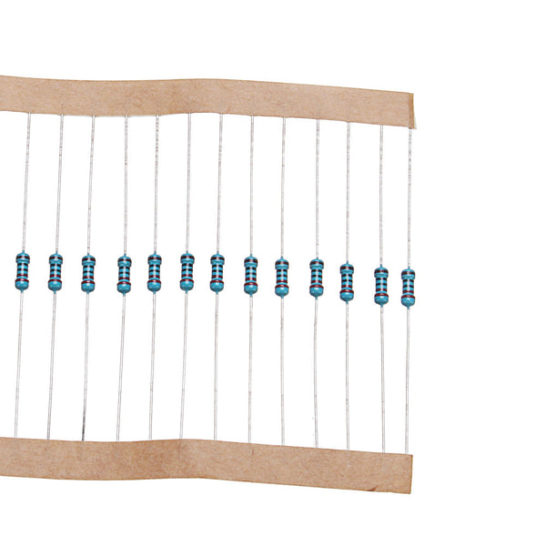 200pcs 1/4W 220 ohm Resistor +/- 1% ROHS1/4w 220R ohm Metal Film Resistors 0.25W Watt Color Ring Resistance Carbon Film