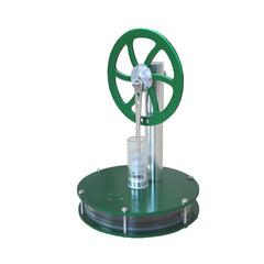 Low Temperature Difference Hot Air Stirling Engine Colorful STEM Model Physics Experiment - Slabiti