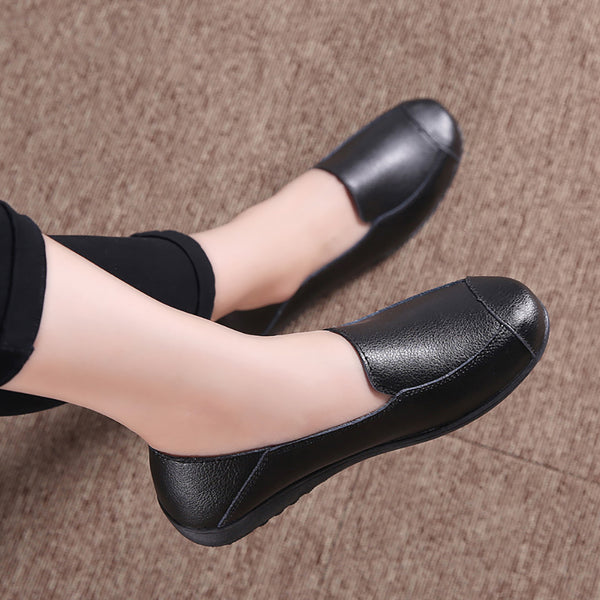 Casual Soft Flower Women Cloth Shoes Flat Loafers