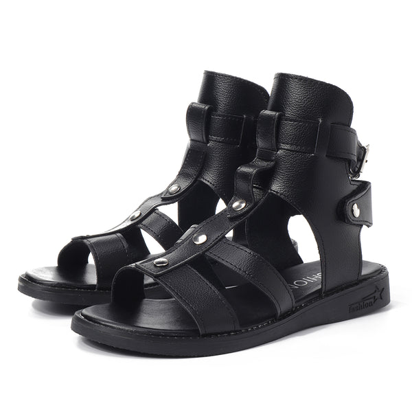 Roman Gladiator Flat Casual Comfy Summer Sandals - Slabiti