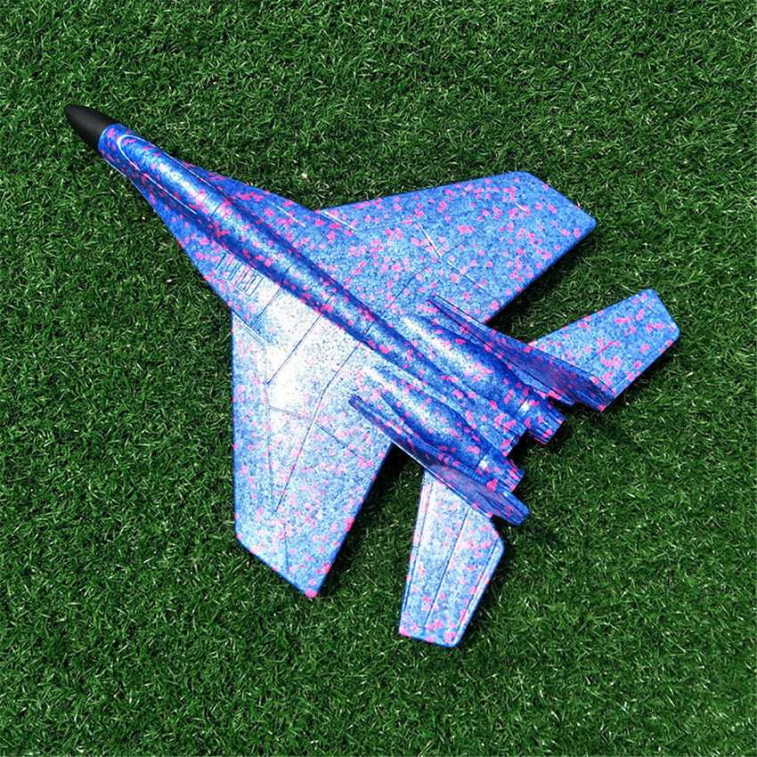 44cm EPP Plane Toy Hand Throw Airplane Launch Flying Glider Outdoor Plane Model - Slabiti