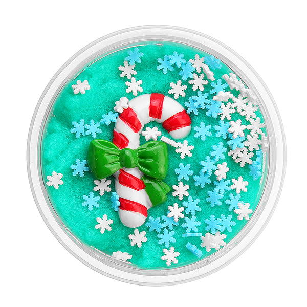 60ML Christmas Cloud Slime Scented Charm Mud Stress Relief Kids Clay Toy - Slabiti