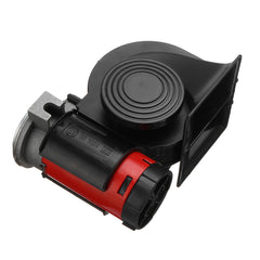 12V 139dB Electric Air Horn Dual Tone Trumpet Loud Pump with Compressor for Car Truck Motorcycle - Slabiti