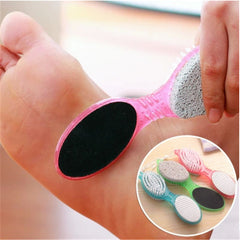 4 in 1 Multi-fuction Foot File Foot Pumice Stone Dead Skin Scrubber Remover Exfoliating Brush Tools - Slabiti
