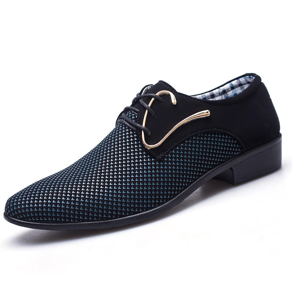 Men Business Cloth Formal Shoes Pointed Toe Business Shoes - Slabiti