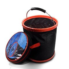 12L Collapsible Folding Water Bucket For Outdoor Boating Camping Fishing Car Washing - Slabiti