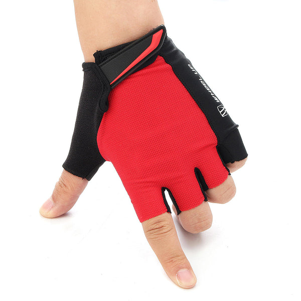 Universial Motorcycle Riding Half Fingers Fingerless Gloves Size XL - Slabiti