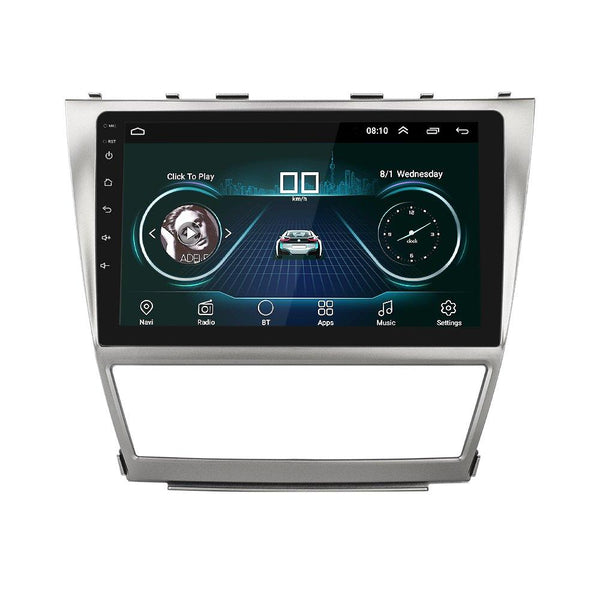 10.1 Inch Android 8.0 Radio Stereo Car MP5 Player w/ Frame GPS BT WIFI Hotspot For Toyota Camry 06-11 - Slabiti