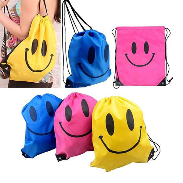 Children Drawstring Bag Boys Girls Mochila Swimming Waterproof Bags Kids School Backpack - Slabiti